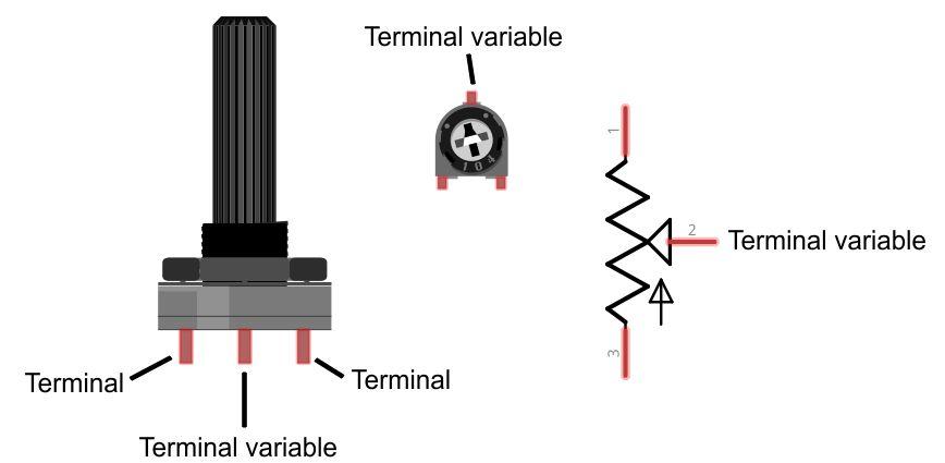 Entradas Analógicas Y El Potenciómetro 7robot Mobile Education And Engineering